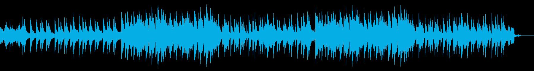 上品系ラップBGM/ラップ無し/ピアノの再生済みの波形
