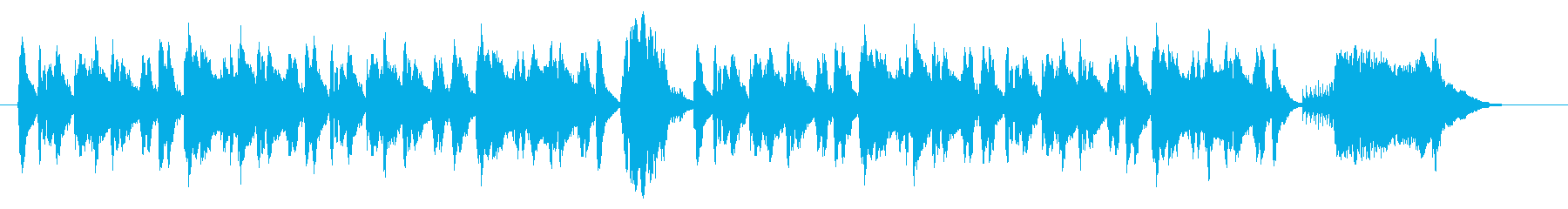 ほのぼの日常、ちょっと良いこと発見!?の再生済みの波形