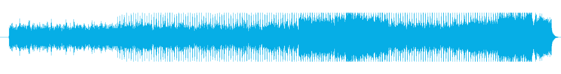 響きが力強くて幻想的なメロディーの再生済みの波形