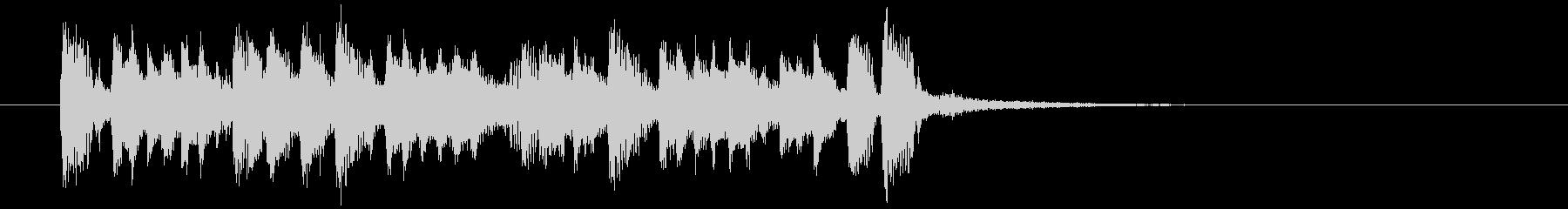 情熱的でリズミカルなシンセサウンドの未再生の波形