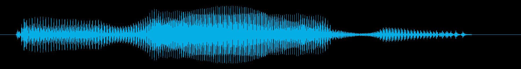 土曜日の再生済みの波形