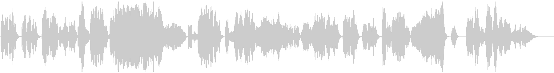 BWV1070/3『アリア・アダージョ』の未再生の波形