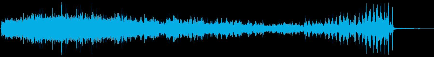 ミニロボットパワーアップ、シンセ、...の再生済みの波形
