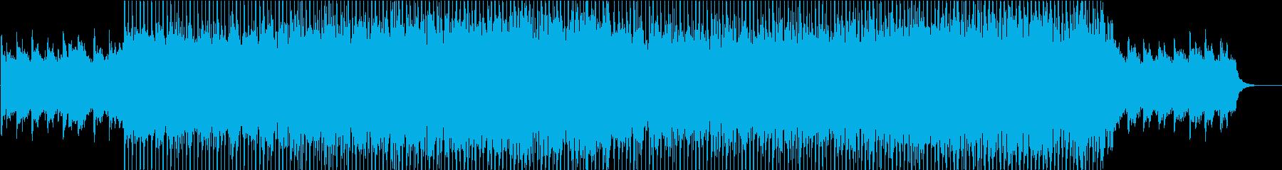 アップテンポな入場退場曲/エンディング等の再生済みの波形