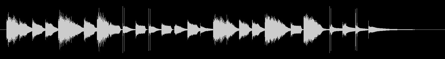 クリーン&モダン、メディアで流行のロゴの未再生の波形