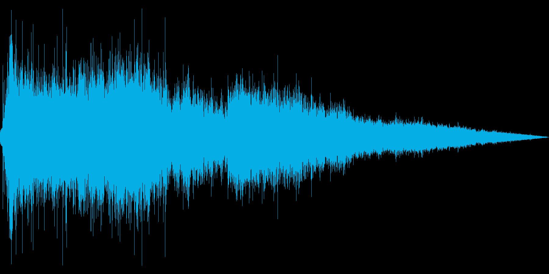 トイレを流す音_01_MOの再生済みの波形