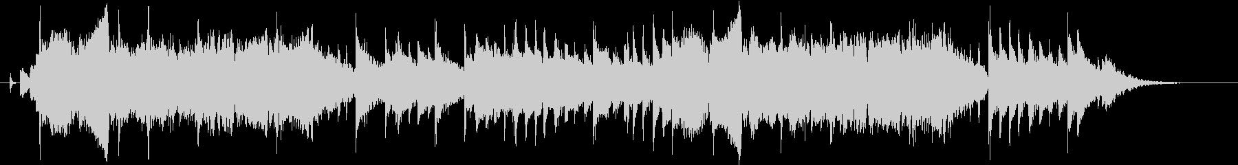 明るい音色のバイオリンのジングル30秒の未再生の波形