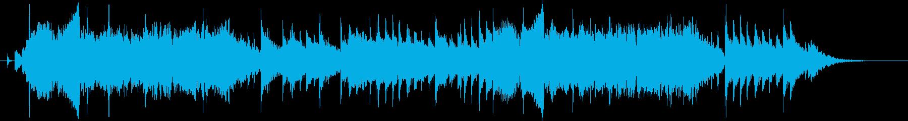 明るい音色のバイオリンのジングル30秒の再生済みの波形