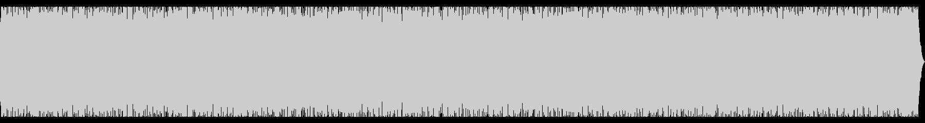 おしゃれなチルアウトの未再生の波形