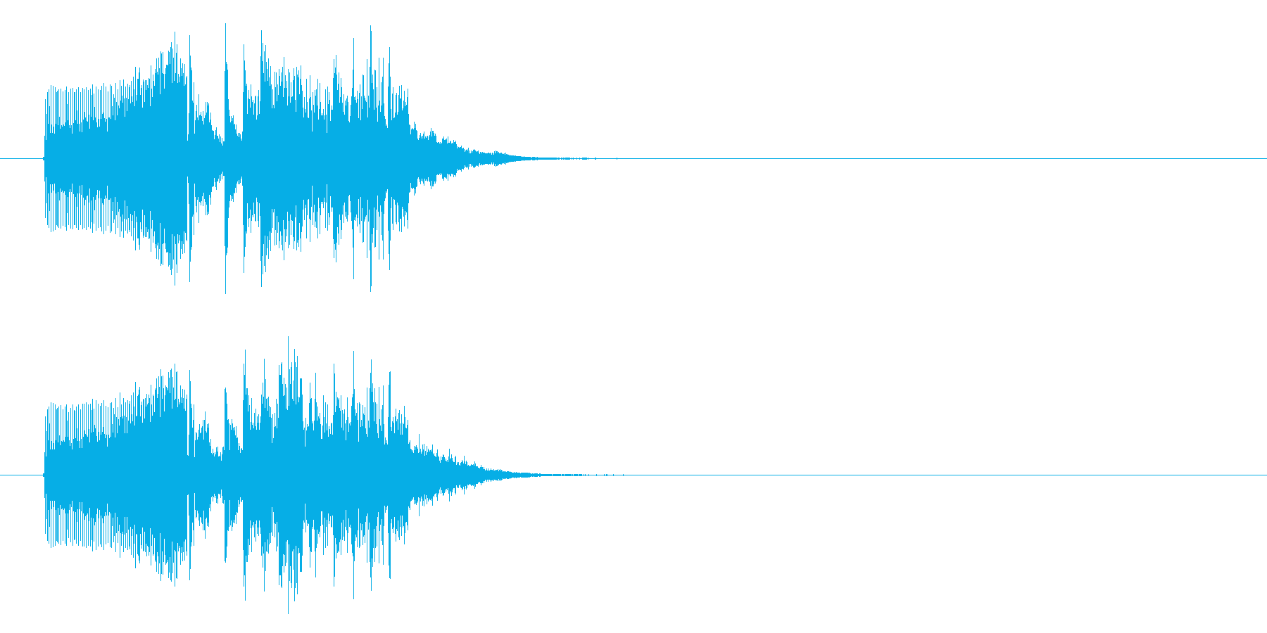 幻想的でキュートな音楽の再生済みの波形