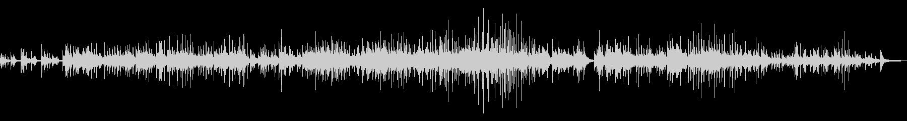 童謡「大きな栗」エモいチルピアノアレンジの未再生の波形