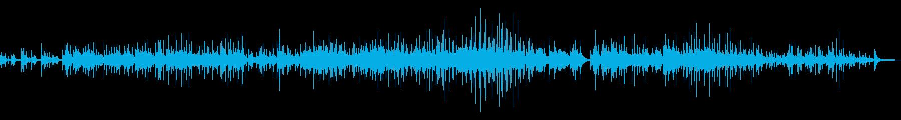 童謡「大きな栗」エモいチルピアノアレンジの再生済みの波形