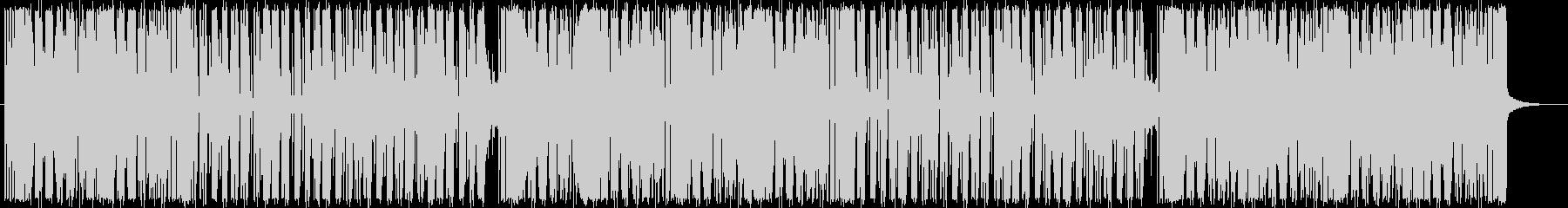 ブルーノマーズ系ニュージャックスウィングの未再生の波形