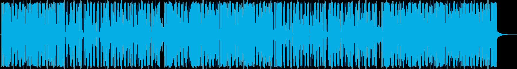 ブルーノマーズ系ニュージャックスウィングの再生済みの波形