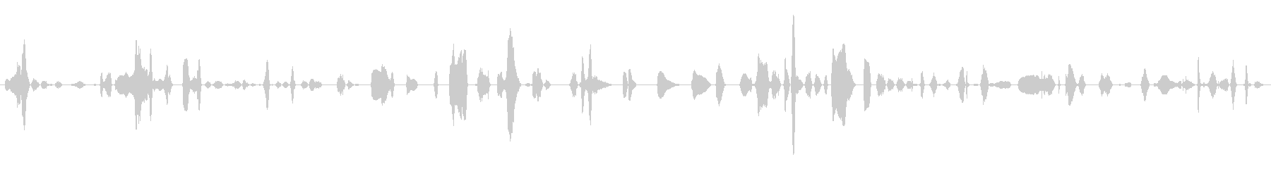 鳴き声 女性のワイン01の未再生の波形