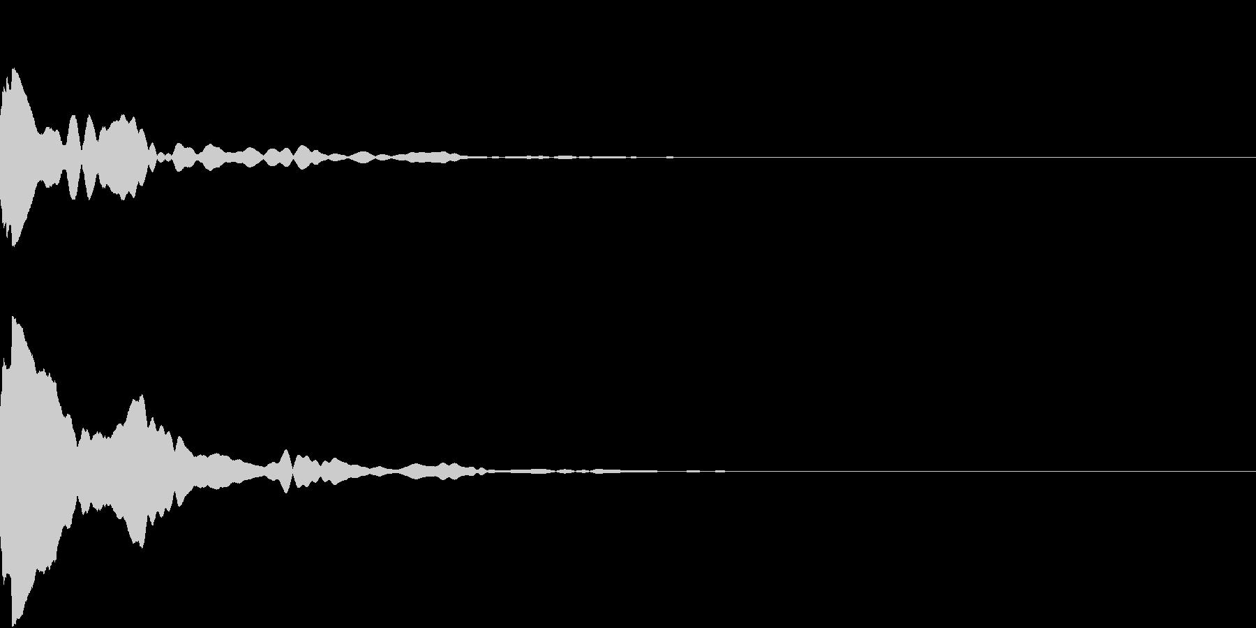 OBAKE 火の玉・人魂 SE 3の未再生の波形