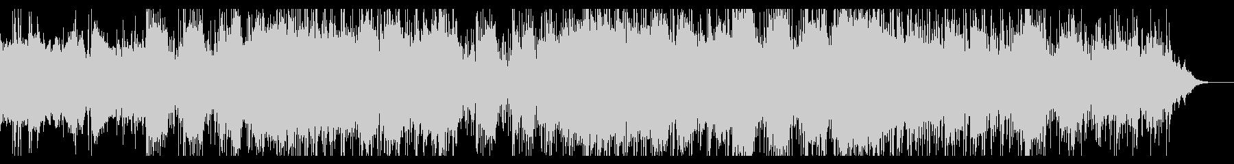 ダークなインダストリアルIDMの未再生の波形