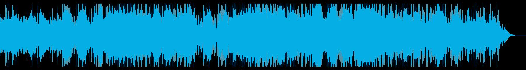 ダークなインダストリアルIDMの再生済みの波形