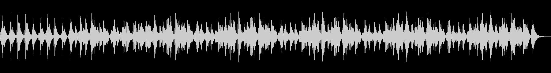 眠くなるオルゴールのBGM(約5分)の未再生の波形