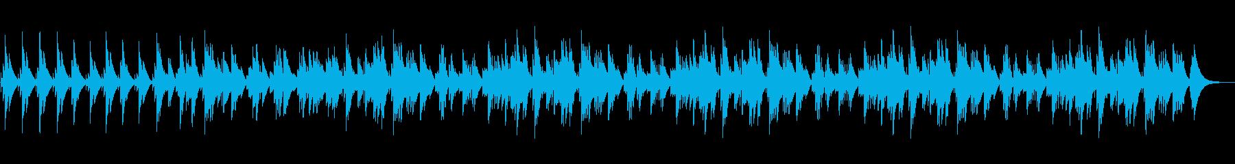 眠くなるオルゴールのBGM(約5分)の再生済みの波形