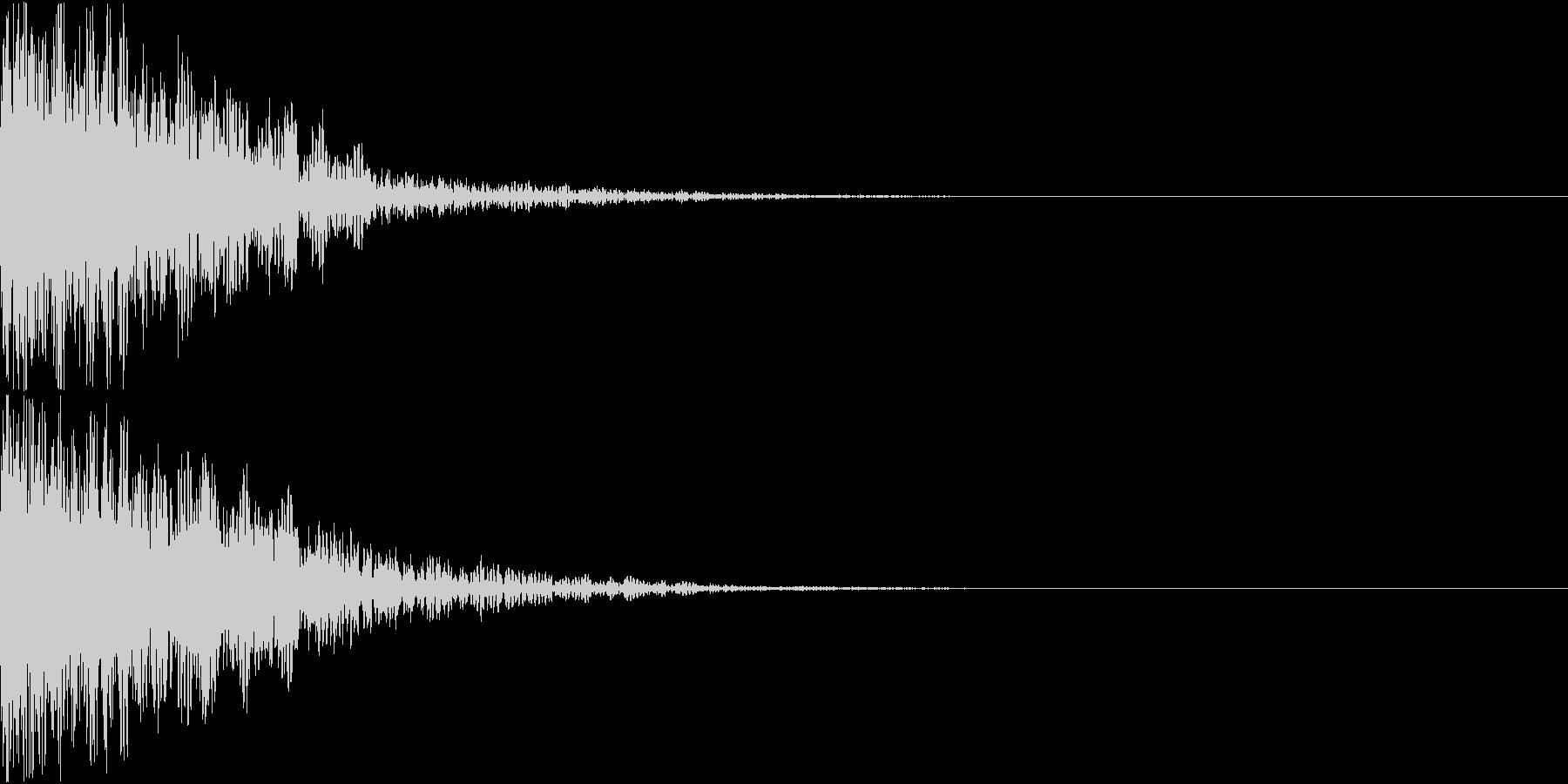 ロボット 合体 ガシーン キュイン 12の未再生の波形