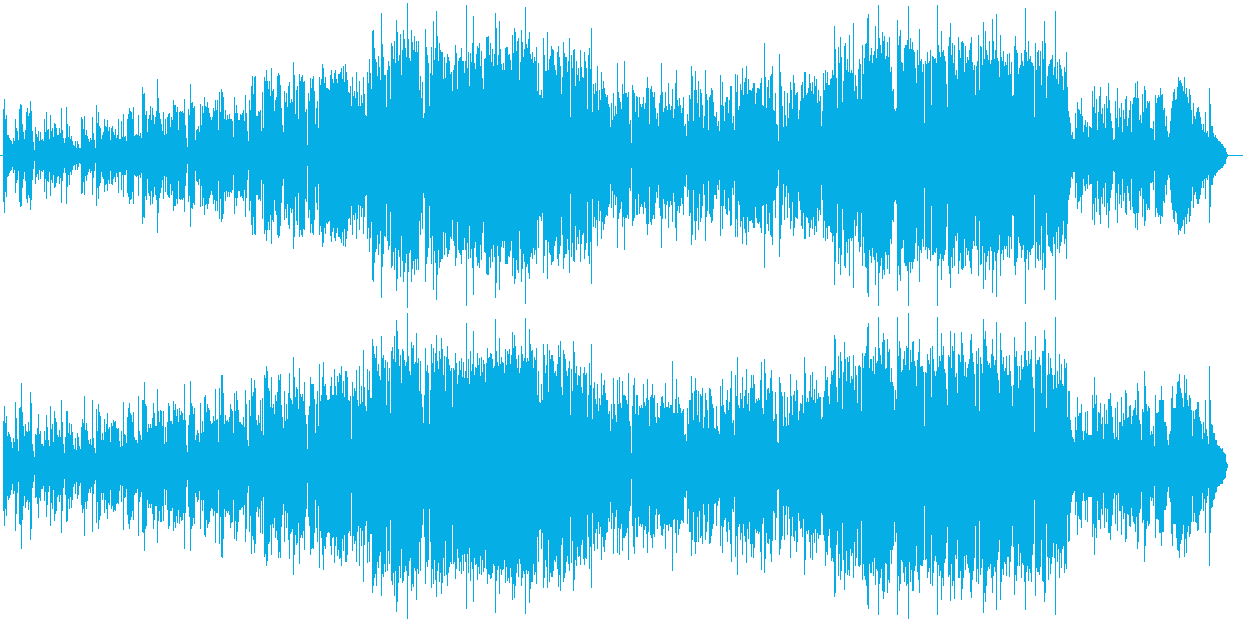 ハーモニカ生演奏哀愁漂うポップバラードの再生済みの波形