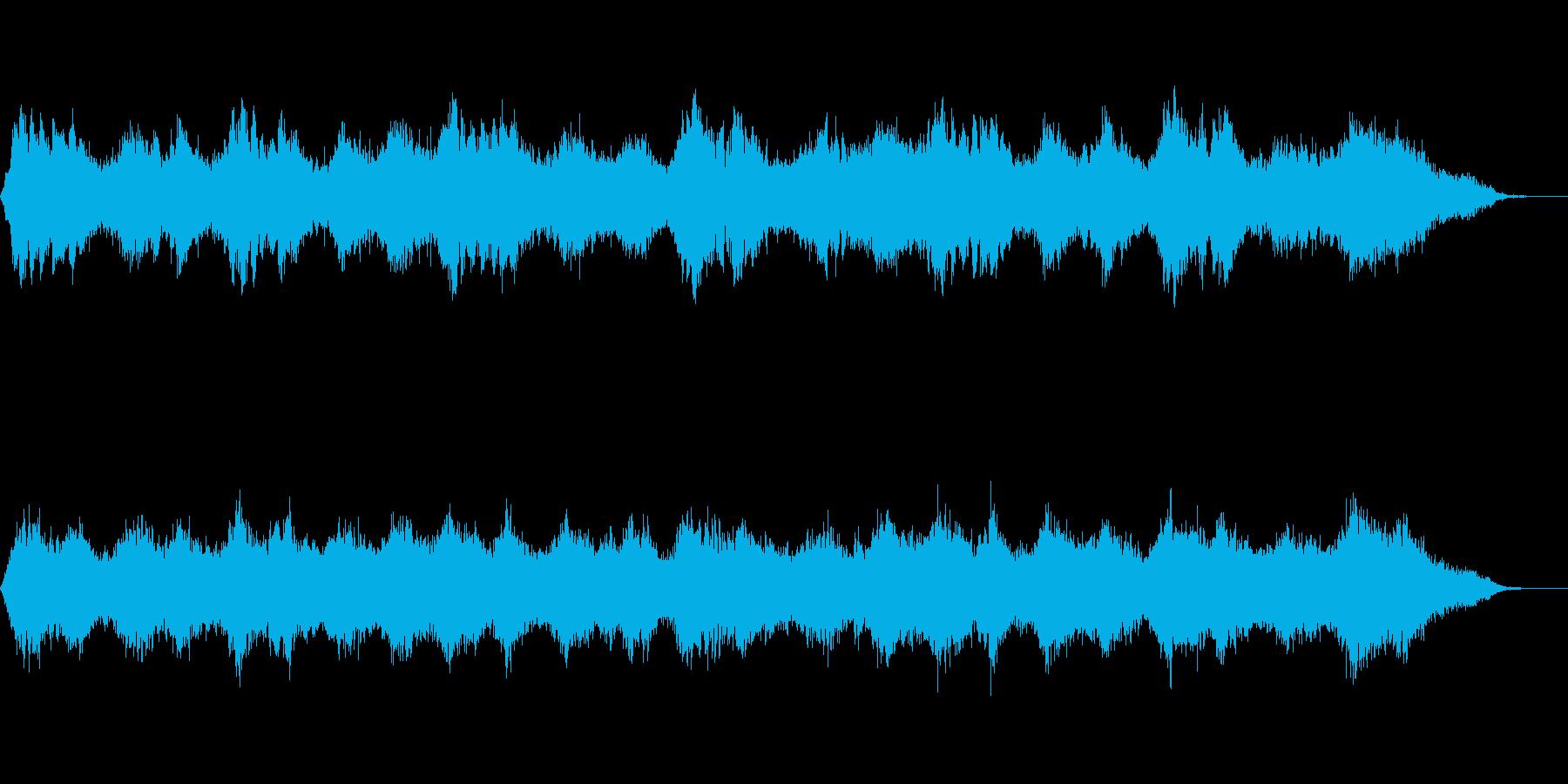 背景音 ホラー 12の再生済みの波形
