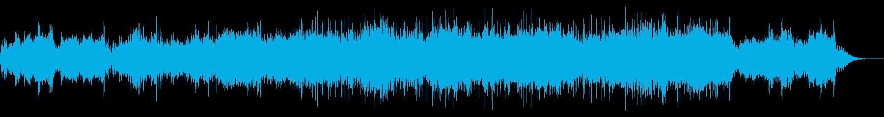 不気味なアンビエントテクスチャIDMの再生済みの波形