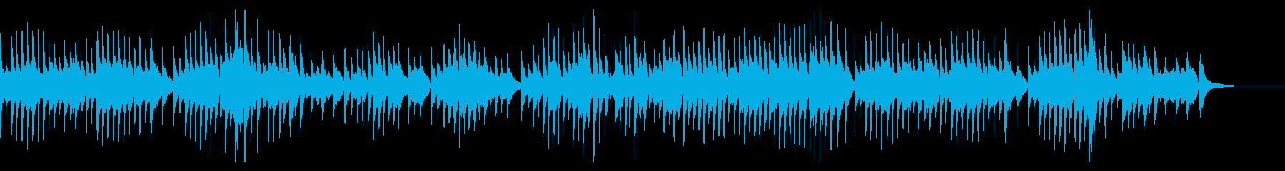 琴でエルガー『愛の挨拶』をアレンジの再生済みの波形
