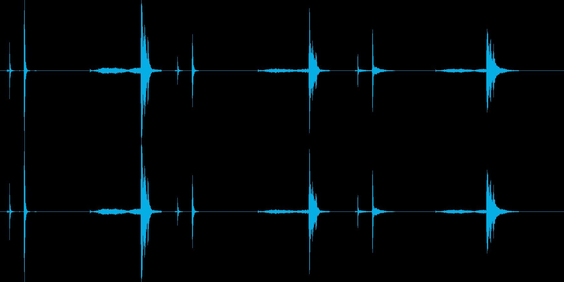 クリンクス-スプリング付き-3部屋の再生済みの波形