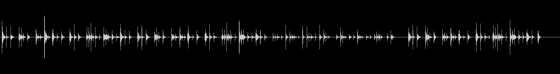 a優しくて可愛らしいおやすみオルゴール の未再生の波形