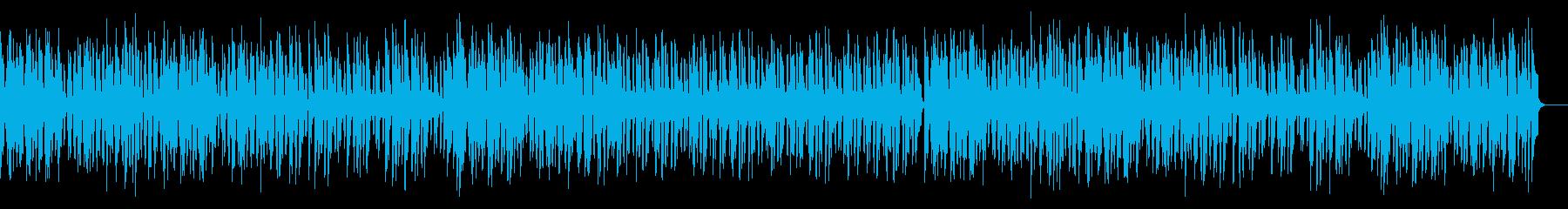 メルヘンで明るく跳ねる可愛いワルツの再生済みの波形
