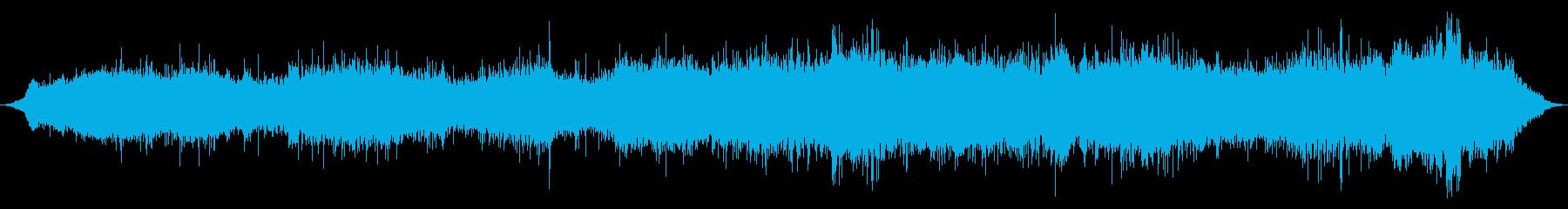 内線:オンボード:アイドル、中速で...の再生済みの波形
