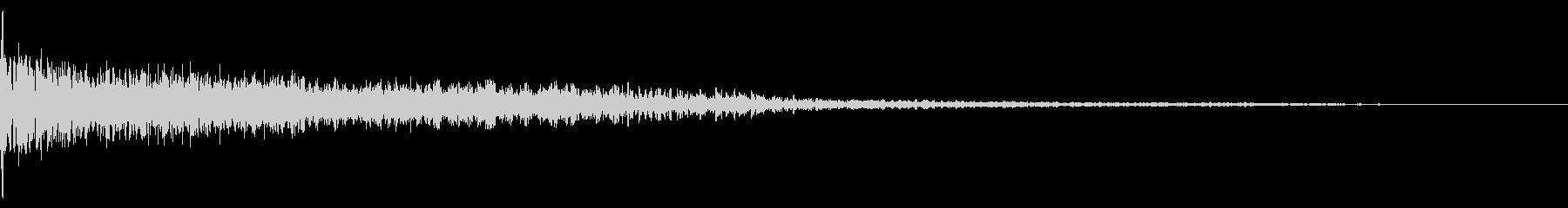 ホラー系アタック音13の未再生の波形