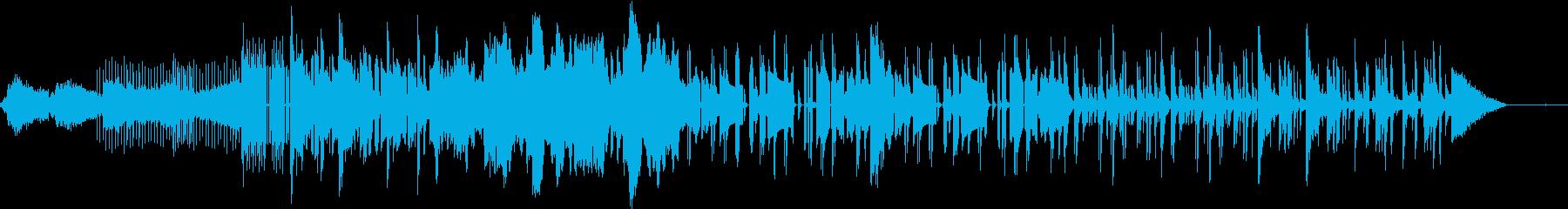 Hip Hop Beatのチルい曲の再生済みの波形