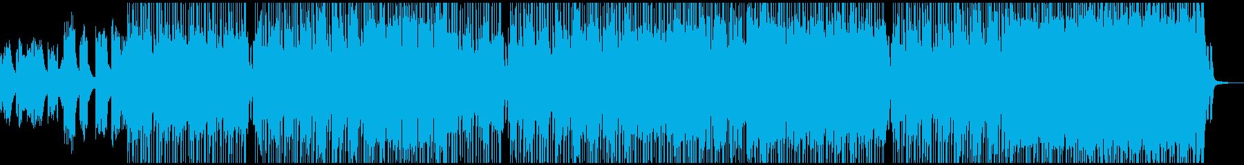 元気いっぱい、軽快なドラムンベースの再生済みの波形