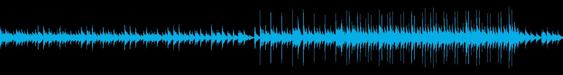 【ループ】謎解きなどのシーンにの再生済みの波形