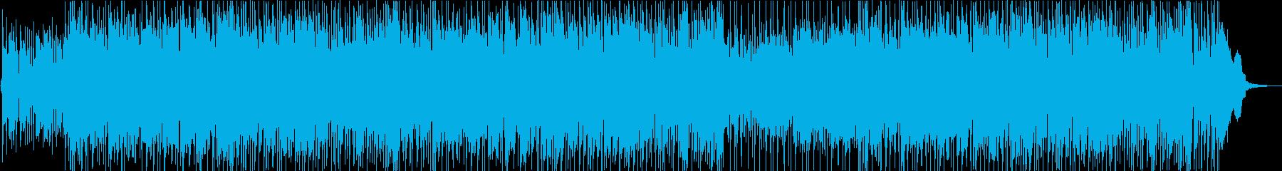 【ニュース、ナレーション】落ち着きのあるの再生済みの波形