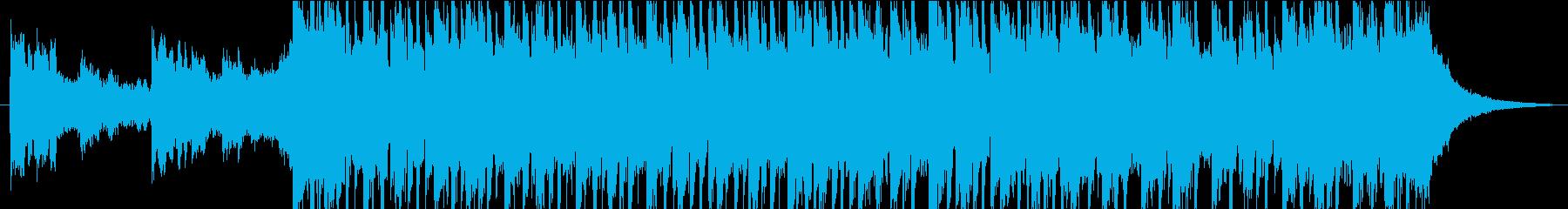 美しいシンセ、メロディックエレキギ...の再生済みの波形