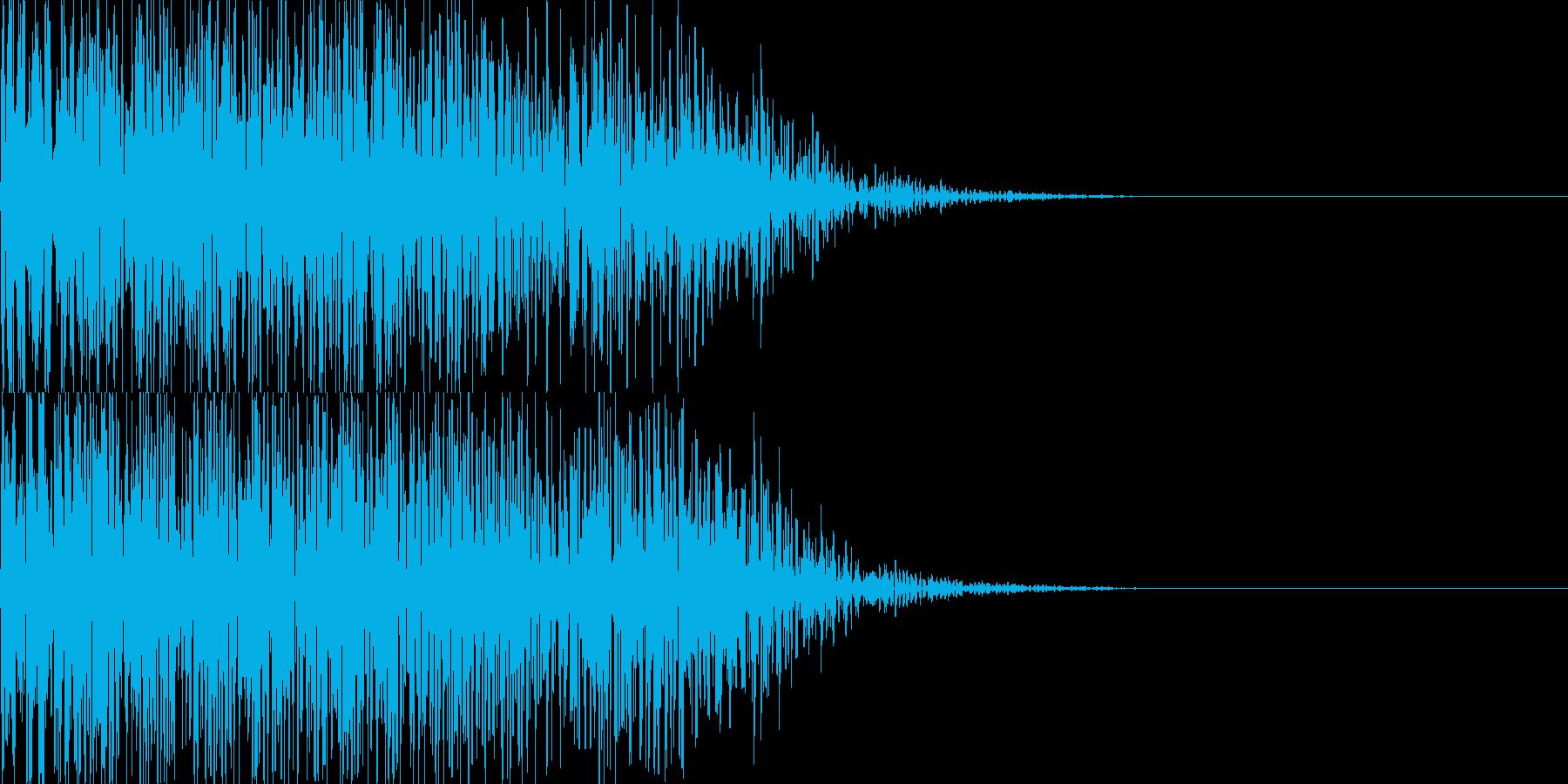 ドーン映画予告風インパクト05の再生済みの波形
