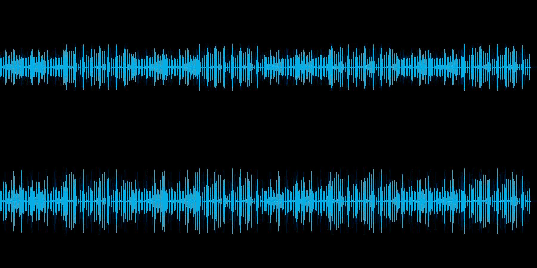 【ナレーション向け】シンプルなピアノ曲の再生済みの波形