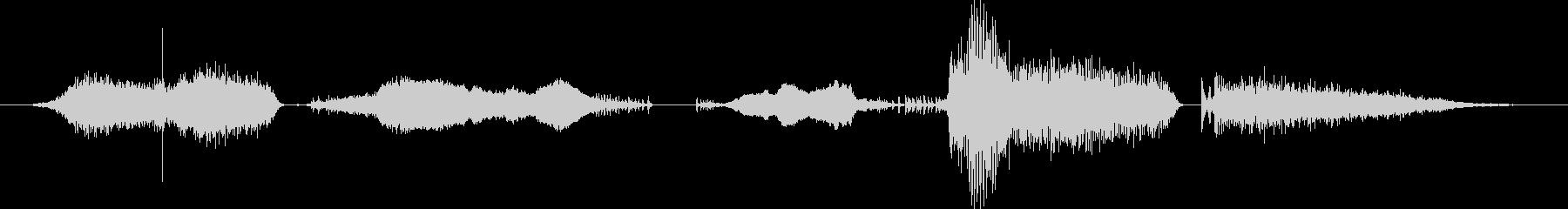 鳴き声 男性のストレッチ02の未再生の波形