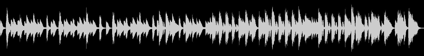 おしゃれなバーをイメージしたピアノソロの未再生の波形