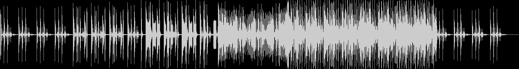 エレクトロEDMの未再生の波形