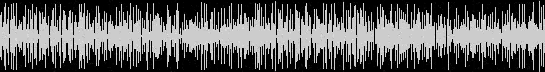 カンフー中華風・8bitゲーム機/ループの未再生の波形