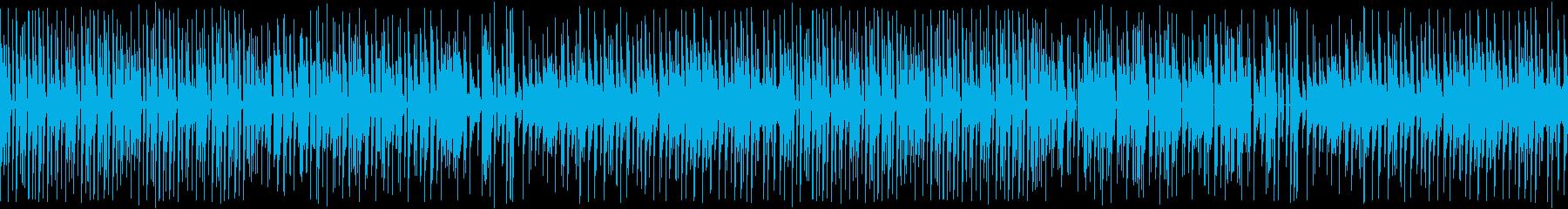 カンフー中華風・8bitゲーム機/ループの再生済みの波形