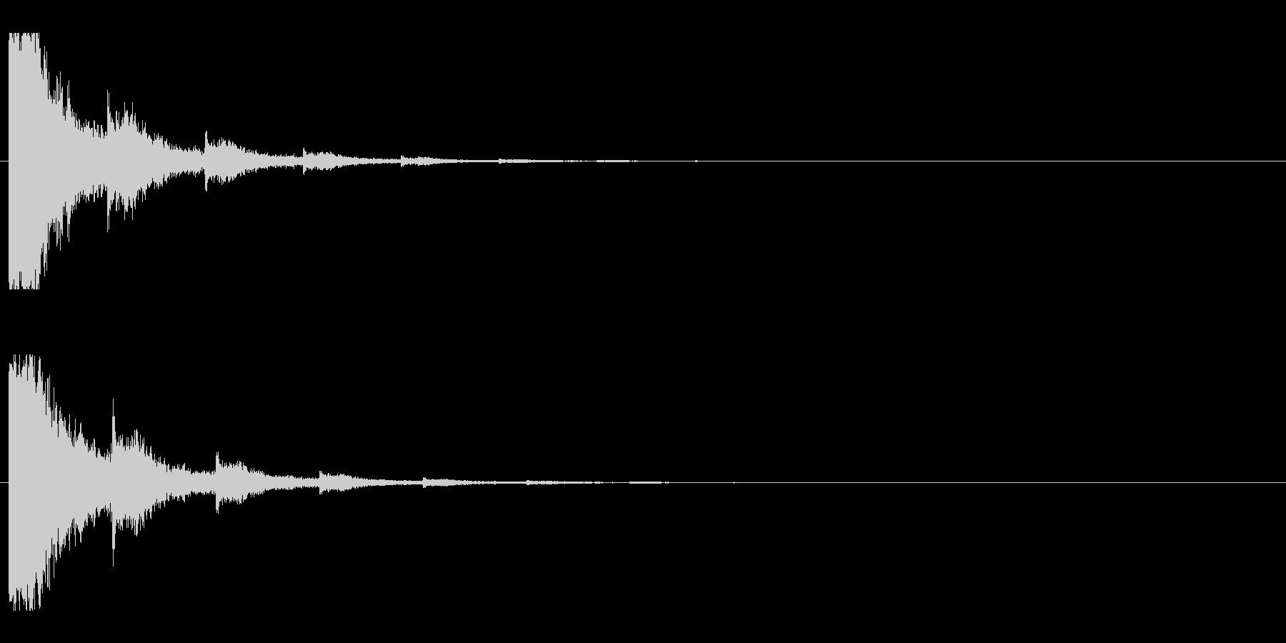 レーザー音-03-2の未再生の波形