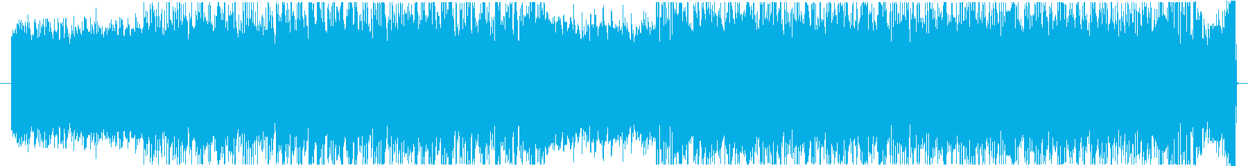軽快なシンセアルペジオ、戦闘曲風の再生済みの波形