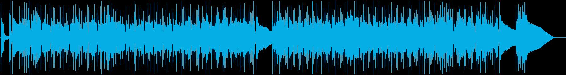 ロックインストゥルメンタル。本物の...の再生済みの波形