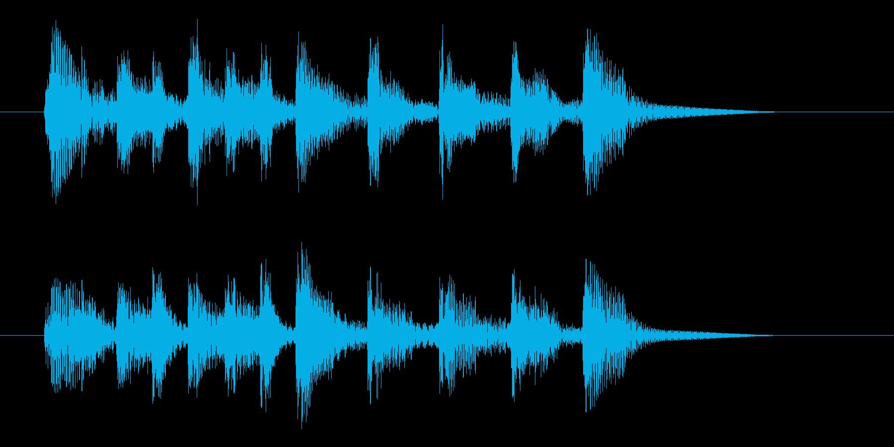 アニメのアイキャッチ1【Ver4】の再生済みの波形